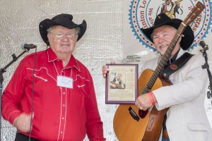Land O' Lakes Traditional Music Hall of Fame Inductee Bill White.
